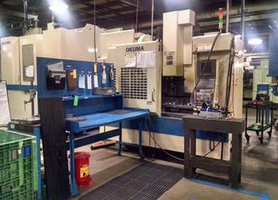 Vertical and Horizontal Machining Centers